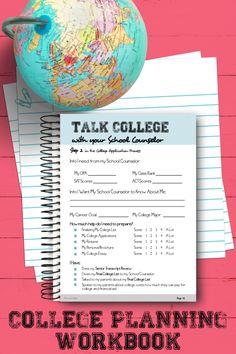 Planning for the college admissions process doesn't have to be difficult.  This workbook offers a step by step guide to help walk students and parents through the college prep process.  Both a digital and pdf version are included.  #schoolcounselor #collegeadmissions #collegeprep High School Counseling, Career Counseling, School Counselor, Apply For College, College Admission, Business Education, Senior Year, Step Guide, Thats Not My
