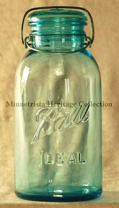 Ball Ideal Jars. First produced in 1915.