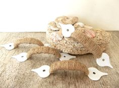 Rope Cabinet Drawer Door Pulls Handles Jute Nautical Furniture