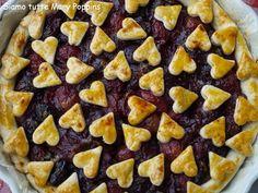 Siamo tutte Mary Poppins  : Balsamic cherry pie with pepper crust per il mio p...