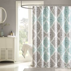 Madison Park Montecito Shower Curtain By Madison Park