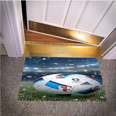 UEFA EURO 2016 BEDROOM CARPET BATH OR DOORMATS