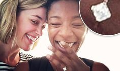 OITNB star Samira Wiley is engaged to show writer  Lauren Morelli - found out your gay by writing for OITNB, lol yeah I don't think so lol