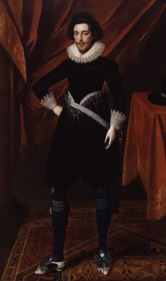 Robert Devereux, Earl of Essex by Unknown artist oil on canvas, circa 1620 80 in. x 48 in. mm x 1219 mm)