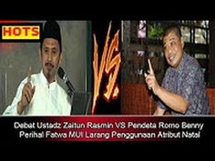 DEBAT PANAS !! Ustadz Zaitun Rasmin VS Pendeta Romo Benny Perihal Fatwa ...