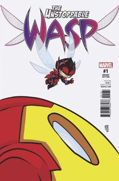 Buzz About Skottie Young's Unstoppable Wasp #1 Variant In January