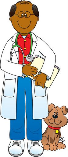 Community Helpers Veterinarian Clip Art