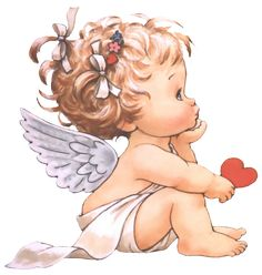 Little Angel ¦ Ruth Morehead Angel Pictures, Cute Pictures, Baby Engel Tattoo, Tattoos Familie, Mosaic Pictures, Cross Paintings, Angel Art, Cute Illustration, Christmas Angels