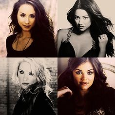 :)Troian Bellisario, Shay Mitchell, Ashley Benson, && Lucy Hale