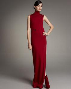 Boğazlı Elbise Modelleri