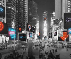 Neon Valentines By Tracey Emin Take Over New York's Times Square.
