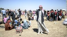 The flood of refugees who have recently arrived in Turkey, fleeing ISIS offensives in Syria, increased to 130,000 on Monday, the U.N. refugee agency said.