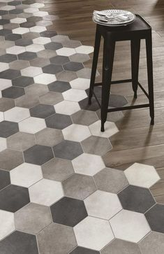 Modern flooring tile and wood combination. Modern flooring tile and wood combination. Best Flooring For Kitchen, Vinyl Flooring Kitchen, Kitchen Vinyl, Wood Tile Floors, Kitchen Tiles, Wood Floor, Kitchen Wood, Cheap Kitchen, Wood Planks