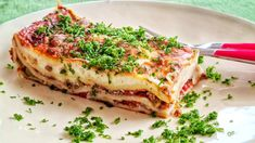 Lasagne Al Forno, Da Cipriano   Da Cipriano Who does not like homemade lasagne? A dish that tastes good to everyone and which is also easy to prepare. #LasagneAlForno #DaCipriano # Bechamel Sauce, Bolognese Sauce, Broccoli Beef, Fresh Pasta, Fresh Green, Wok, Food Processor Recipes, Stuffed Peppers