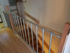 Halle, Town And Country, Stairs, Wood, Diy, Furniture, Pipes, Garage, Home Decor