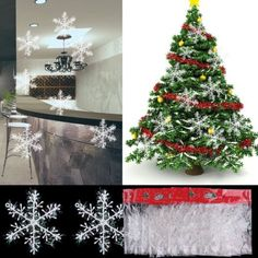 30Pcs-Classic-White-Snowflake-Ornaments-Christmas-Holiday-Party-Home-Decor