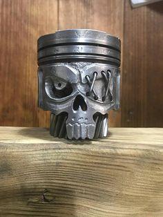 Mira este artículo en mi tienda de Etsy: https://www.etsy.com/es/listing/575199860/piston-calavera-pirata