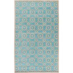 Artistic Weavers, Geneva Aqua 5 ft. x 8 ft. Indoor Area Rug, S00151014938 at The Home Depot - Mobile