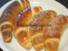 Frühstücks-Kifle -Hörnchen « kochen & backen leicht gemacht mit Schritt für Schritt Bilder von & mit Slava