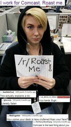 f80881ce45110fcfe5e1b3581cba9a7d roast jokes roast me 47 funny memes to keep you going funny memes, memes and roast jokes,Comcast Memes