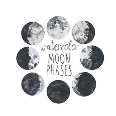 Hey, I found this really awesome Etsy listing at https://www.etsy.com/listing/226212965/watercolor-moon-phases-lunar-chart-clip