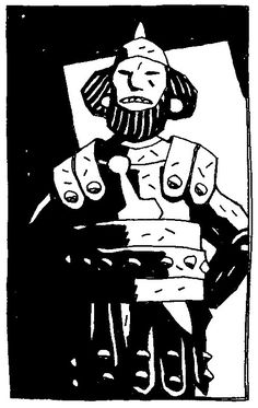 Character Art, Character Design, Character Concept, Concept Art, Mike Mignola Art, Bone Books, Graphic Novel Art, Ligne Claire, Stamp Printing