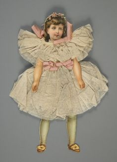 78.8625: paper doll | Paper Dolls | Dolls | National Museum of Play Online Collections | The Strong