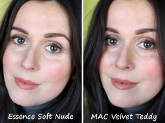 MAC Velvet Teddy dupe: essence xxxl longlasting lipgloss in Soft Nude
