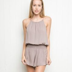 BM Blanche Romper NWT. One size fits most, will fit XS-M best. NO TRADES Brandy Melville Dresses Mini