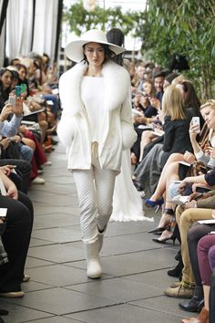 Silk and cotton velvet jacket from Delphine Manivet's spring 2015 bridal collection. Photo: Dan Lecca/Delphine Manivet