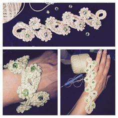 maddylopez324 crochet flower beads