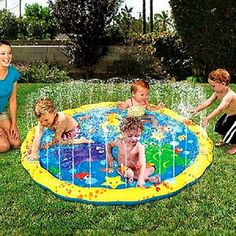 The Best Sprinkler Pools & Mats A sprinkler pool or mat is the perfect way for toddlers and kids to cool off on a hot summer day. Description from webnuggetz.com. I searched for this on bing.com/images