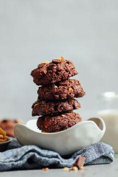 Fudgy Vegan Brownie Cookies   Minimalist Baker Recipes