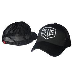 d5a30b09841 Deus Ex Machina Baylands Trucker Snapback Men Women Bboy Girls Mesh Sports.  Denim HatBaseball Caps ...