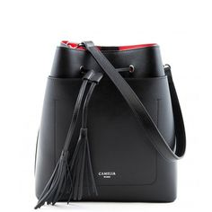 Leather bucket bag - Camelia Roma