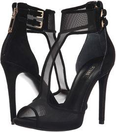 GUESS Apola Mesh T-Strap Sandals