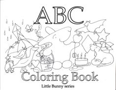 ABC Coloring Book cover