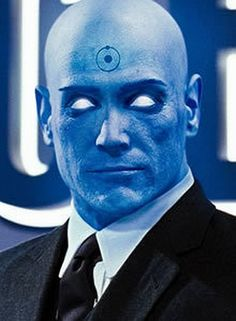 Suited up Dr. Manhattan