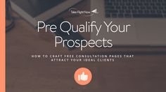 One of the fastest ways to fill your coaching, consulting, speaking or service business is to do more free initial consultations with qualified prospects.