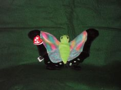 93c94d76f78 Float the butterfly. TY Beanie Baby. Original Beanie Babies