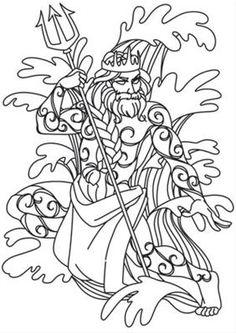 Greek Gods - Poseidon_image