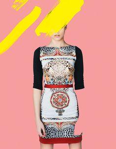 Digital Collages for Jeu Poitrine — Advertising photographers Peplum Dress, Model, 2013, Dresses, Behance, Fashion, Gaming, Vestidos, Moda