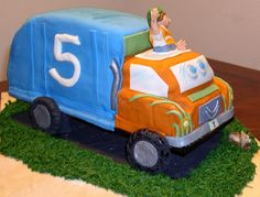Garbage Truck Cake Gigis Creations Pinterest Truck cakes