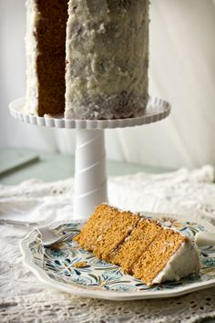 Thai Tea Cake with Creamed Coconut Frosting