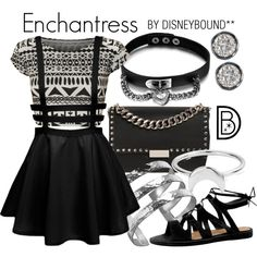 Disney Bound - Enchantress (DC Comics - Suicide Squad) (Found on DisneyBound Polyvore)