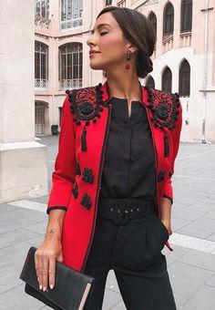 Daily Fashion, Look Fashion, Hijab Fashion, Fashion Dresses, Womens Fashion, Business Casual Outfits, Classy Outfits, Cool Outfits, Fashion Details
