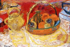 Still Life, Yellow and Red / Pierre Bonnard - 1931