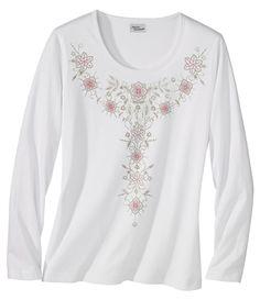 T-Shirt Mit Blumenmuster #atlasformen #atlasformende #atlasformendeutschland #meinung #winter