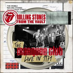 The Rolling Stones - From The Vault: The Marquee Club Live In 1971 on Limited Edition LP   DVD