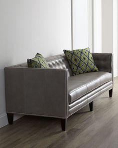 Dove Leather Sofa $4999